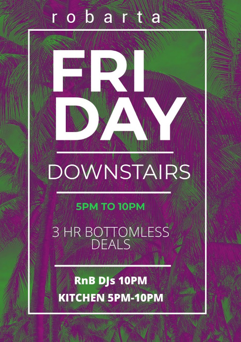 Fridayrobarta.bottomless.stkilda.bar